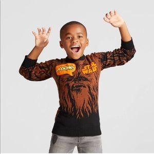 NWTs STAR WARS Chewbacca Graphic Sweater w/ Sound